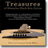 Various Artists - Treasures of Hawaiian Slack Key Gutiar