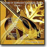 Various Artists - Masters of  Hawaiian Slack Key Guitar  Vol. 2