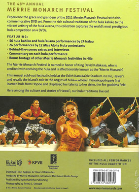 Merrie Monarch Festival - 48th Annual Hula Competition [4 DVD Set] 2011